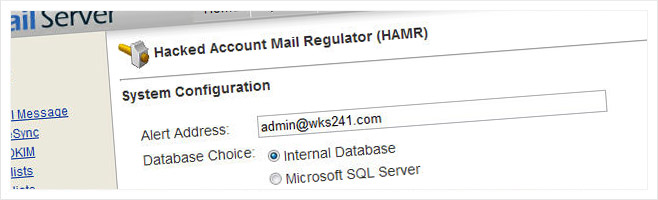 Hacked Account Mail Regulator